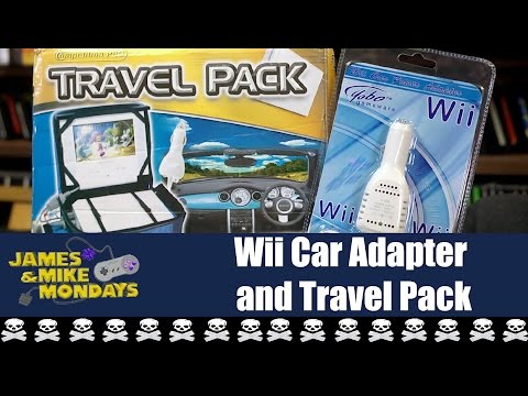 Wii Car Adapter and Travel Pack - James & Mike Mondays