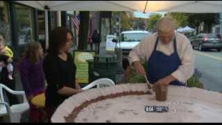 10/5/13 Wcax World's Largest Peanut Butter Cup Pkg