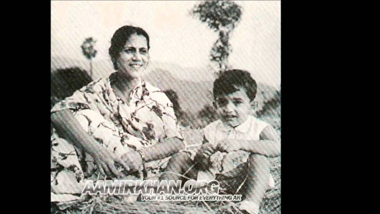 Aamir Khan's Childhood Pictures - YouTube
