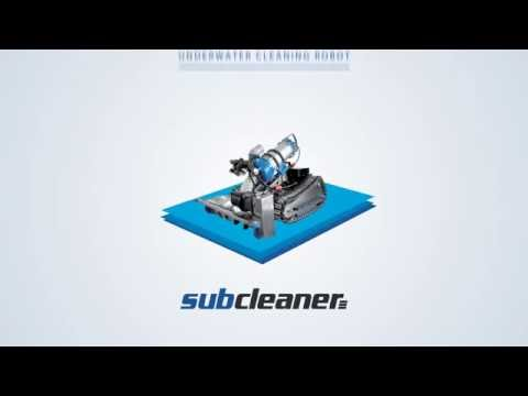 SubCleaner (one of commercialized underwater cleaning robot from KIRO-U7)