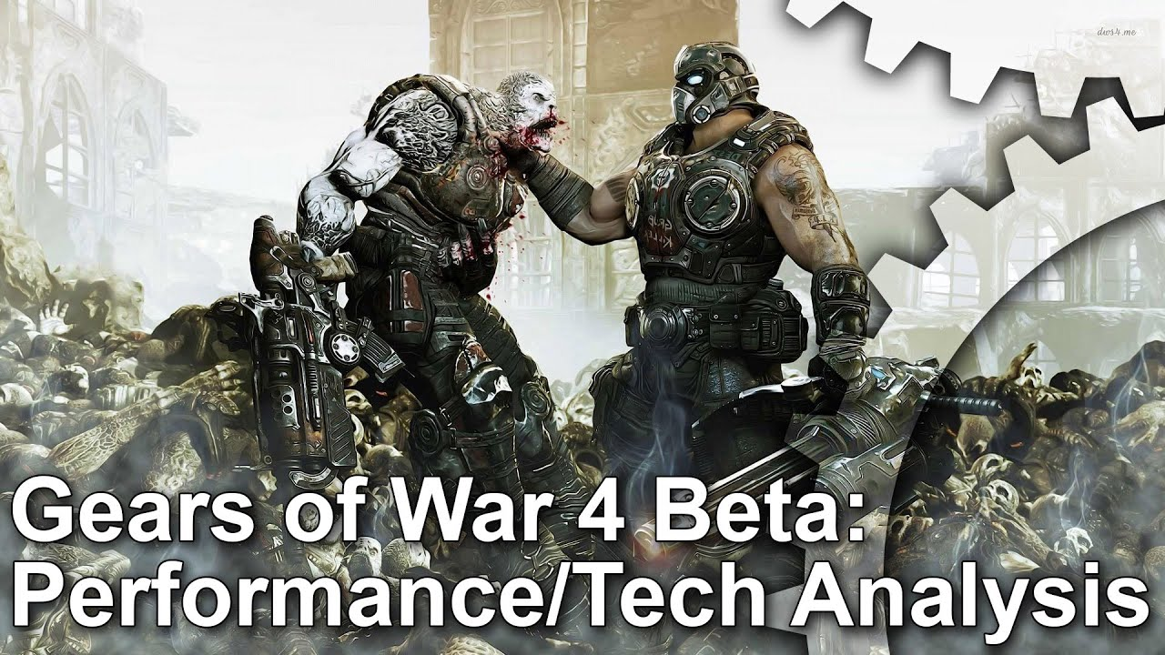 Gears of War 4 Beta Xbox One Gameplay Frame-Rate Test [Work In Progress]