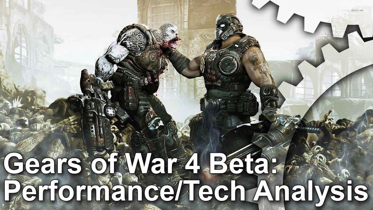 Face-Off: Gears of War 4 • Eurogamer net