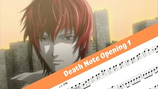 Death Note Opening 1 (Flute)