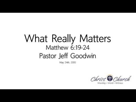 05.24.15 | What Really Matters