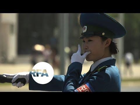 Driven to Distraction: Pyongyang's 'Traffic Ladies' | Radio Free Asia (RFA)