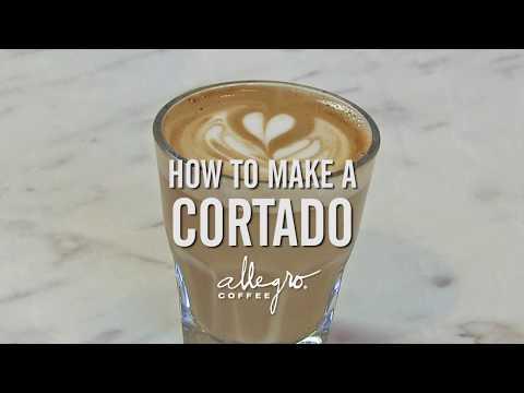 How to Make a Cortado