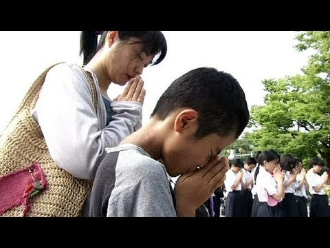 Japan marks 68th anniversary of Hiroshima Atomic bomb - no comment
