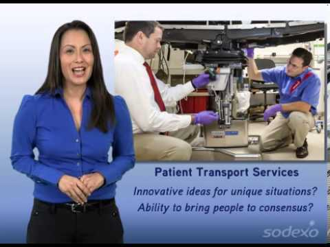 Sodexo Patient Transport Manager Jobs