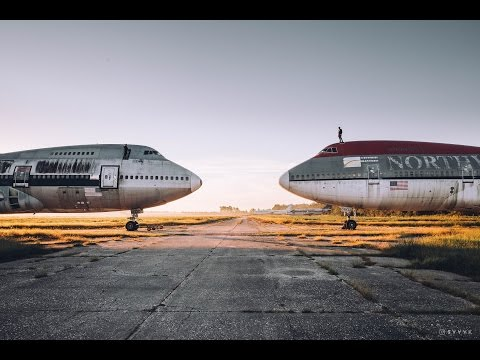 FOUND ABANDONED BOEING 747'S AND 727'S!