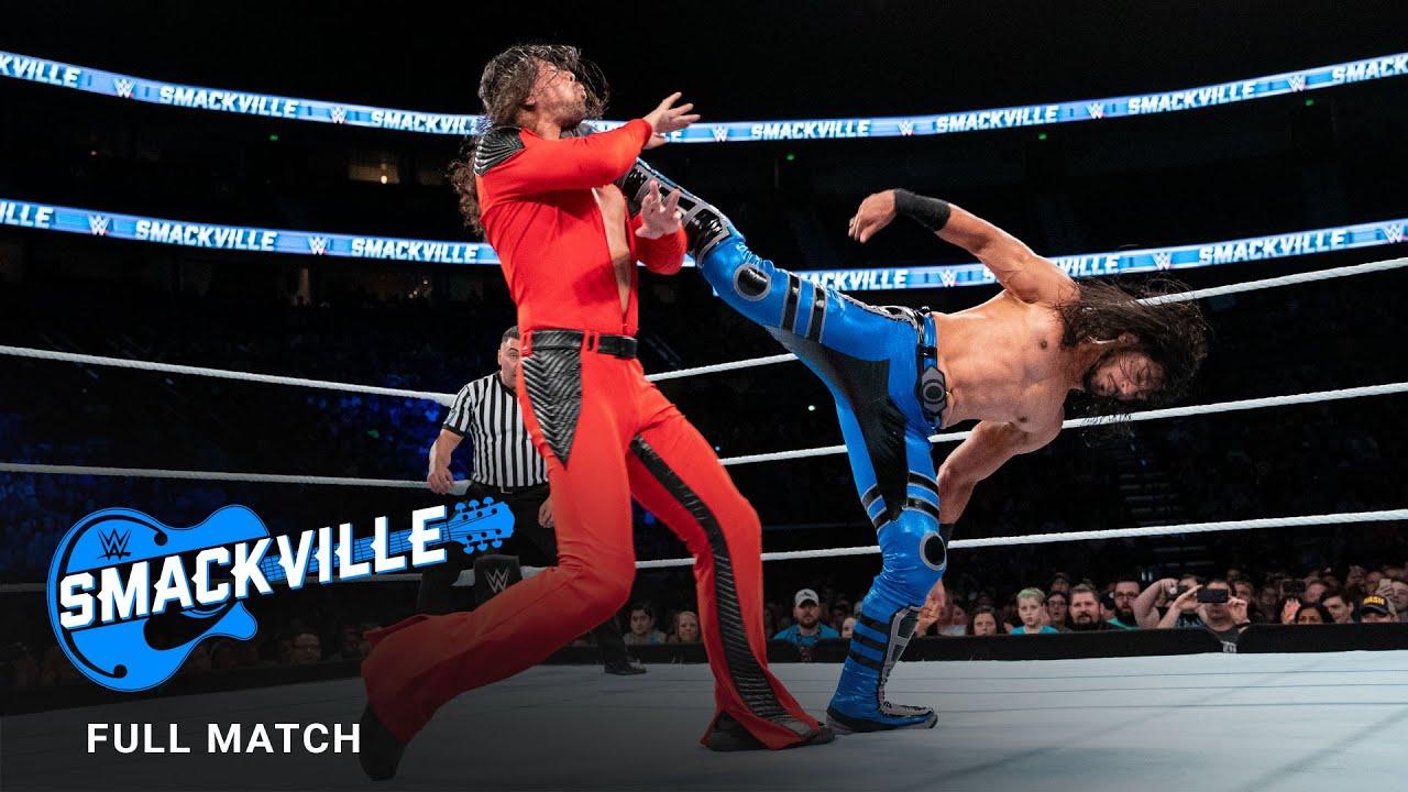 Download FULL MATCH - Shinsuke Nakamura vs. Mustafa Ali – Intercontinental Title Match: Smackville 2019
