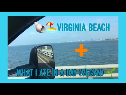 Airbnb in Virginia Beach + what I ate in a day (vegan)
