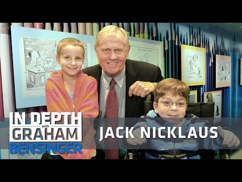 Jack Nicklaus on asking people for millions