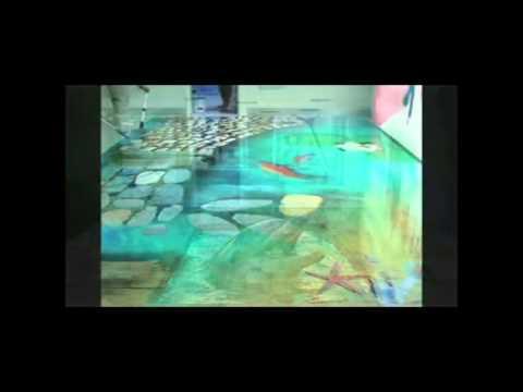 Pavimenti in resina   youtube