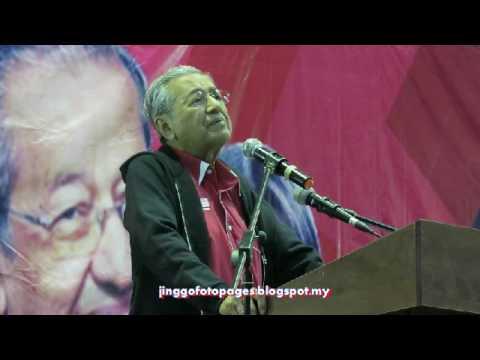 20170419 Ucapan Dr Mahathir @ Kg Pandan