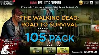The Walking Dead: Road To Survival - 105 PACK