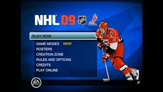 Hockey Game History - NHL 09