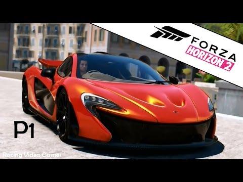 forza horizon 2 gameplay | mclaren f1 & mclaren p1 gameplay | xbox