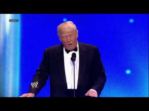 Donald Trump cements his WWE legacy: 2013 WWE Hall of Fame Induction Ceremony