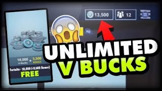 How to get unlimited vbucks in Fortnite battle Royale