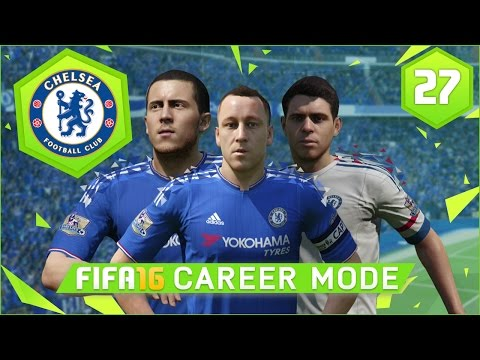 FIFA 16 | Chelsea Career Mode Ep27 - LIVE CHAMPIONS LEAGUE FINAL!!