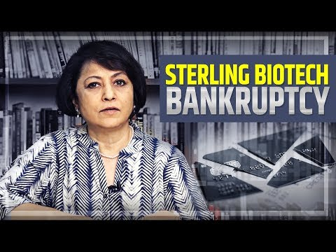 Sterling Biotech Bankruptcy