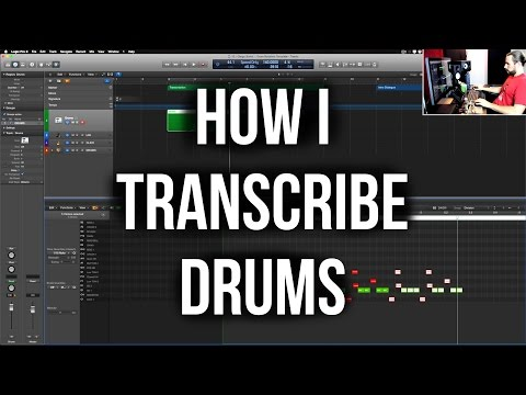 How I Transcribe Drums in Logic Pro X