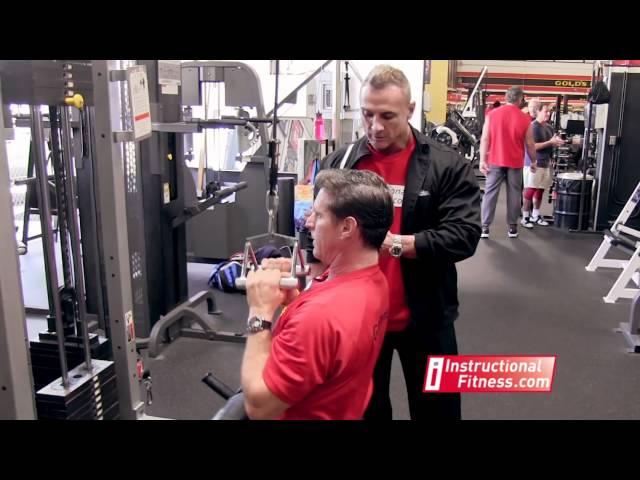 Advanced - Close Grip Pulldowns