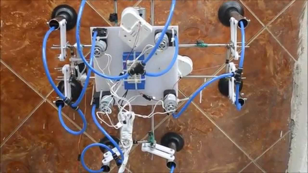 Skyscrappers Window Cleaning Robot Eme 2014 Doovi