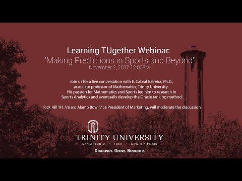 Learning TUgether: Making Predictions in Sports and Beyond