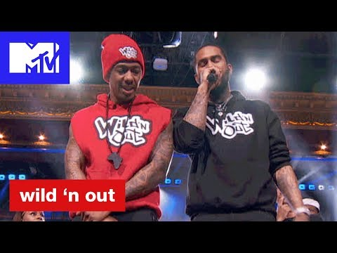 Dave East & Nev of 'Catfish' Hit Nick Cannon w/ Bars | Wild 'N Out | #Wildstyle