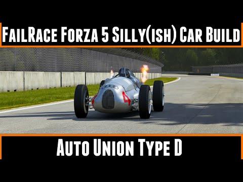 FailRace Forza 5 Silly Car Build Auto Union Type D