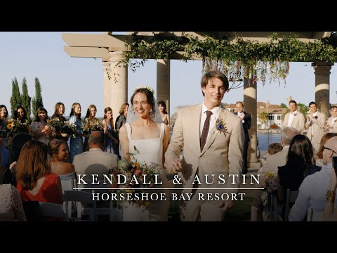 Kendall & Austin - Beautiful and Heartfelt Wedding on the Water - Horseshoe Bay Resort
