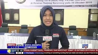 KNKT Umumkan Hasil Investigasi Lion Air PK-LQP Siang Ini
