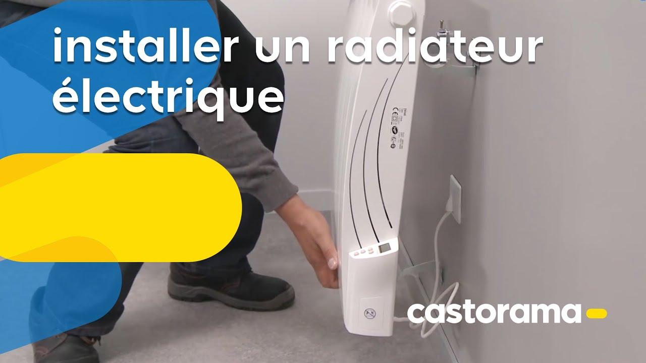 Installer Un Radiateur électrique Castorama Youtube
