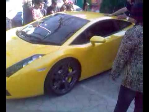 Lamborghini Gallardo at Bangalore Club