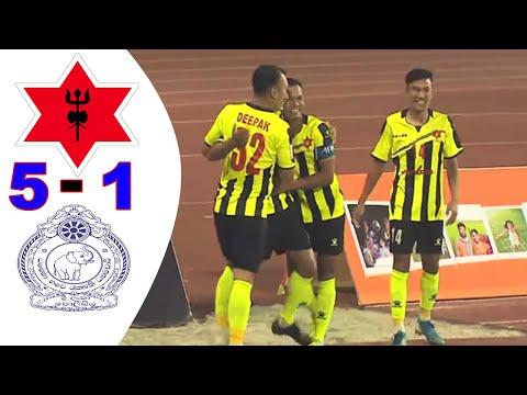 Nepal Army Club  Nepal vs Sri Lanka Police SC Sri Lanka 5 - 1  All Goals & Highlights . AFC Cup 2021