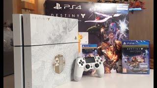 Распаковка эксклюзивной PlayStation 4 - Destiny: The Taken King (легендарное коллекционное издание)