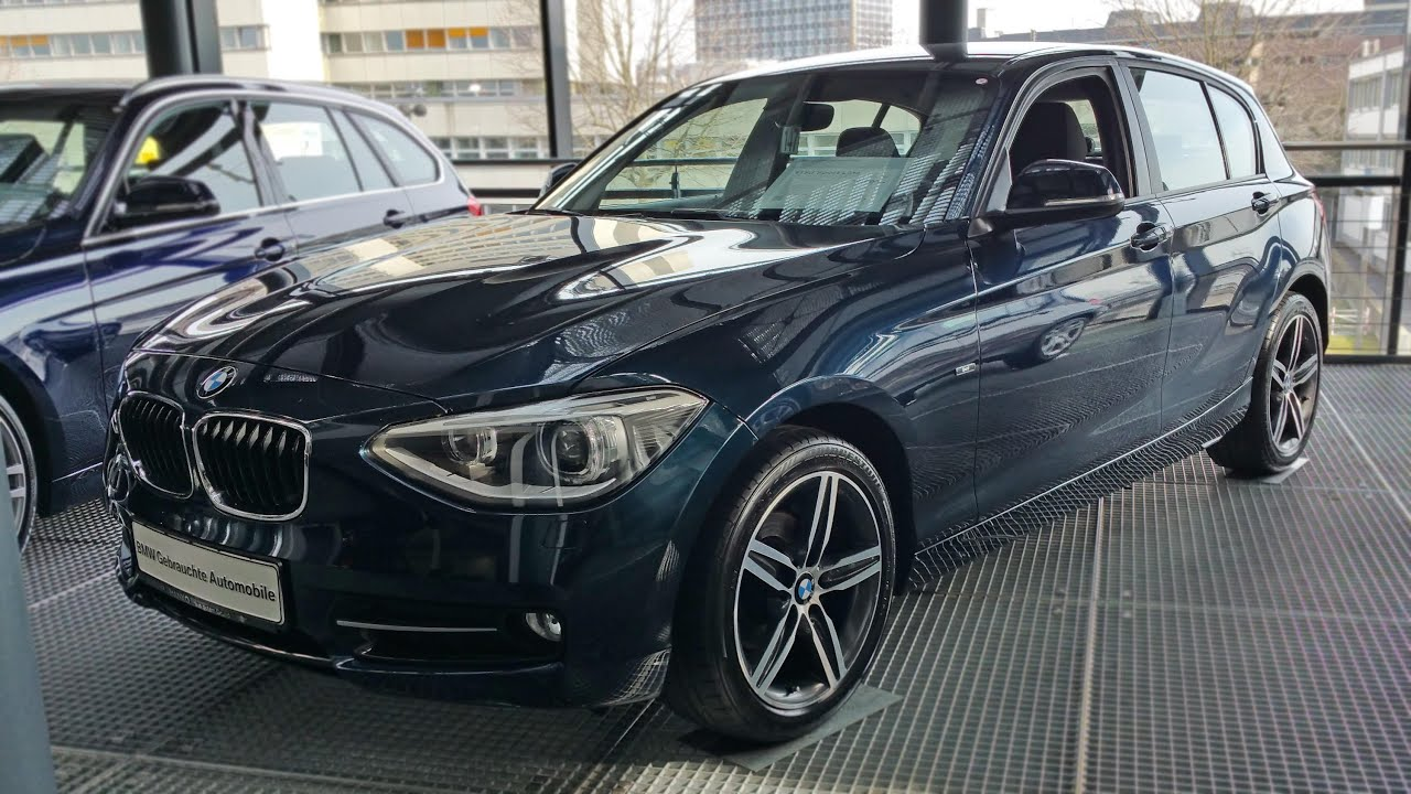 2011 bmw 118d sport line youtube for Exterieur licht und sichtpaket