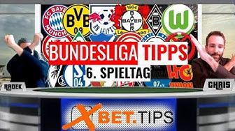 BUNDESLIGA TIPPS #06 ⚽ Unsere Prognosen & Vorhersagen als Tipphilfe zum 6. Spieltag 2019/2020