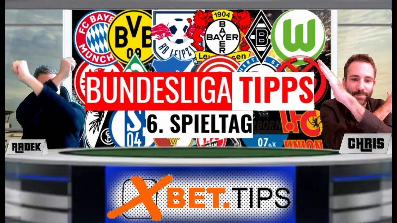 Bundesliga Tipps 06 Unsere Prognosen Vorhersagen Als Tipphilfe Zum 6 Spieltag 2019 2020