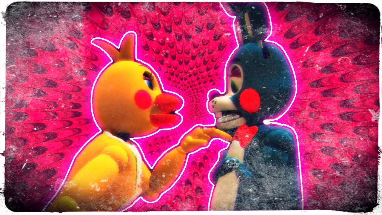 [ MMD FNAF ] Toy Bonnie X Toy Chica