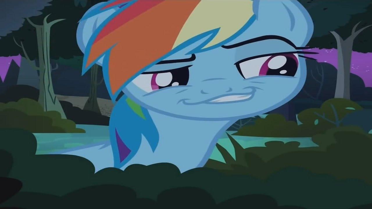 Rainbow Dash's Weird Squee