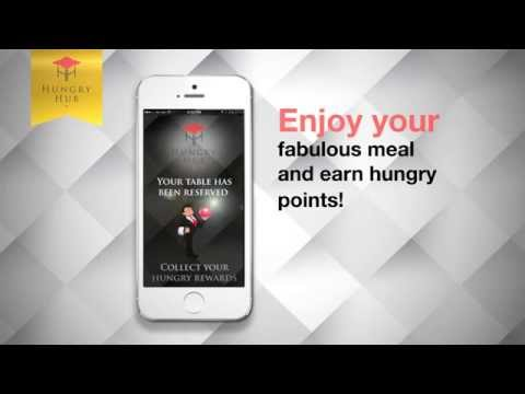 Introducing Hungry Hub app - restaurant reservation service