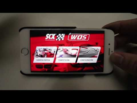 SCALEXTRIC WOS APP
