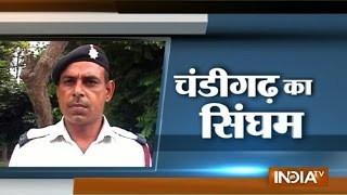Exclusive interview of traffic cop who suffers Hit and Run in Chandigarh