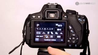 Canon EOS 700D. Интерактивный видео тест. Часть 1