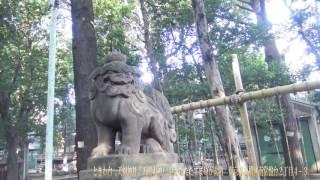 ときわ台 天祖神社(天照大神) 静かなたたずまいが素敵 東京都板橋区南常盤台2丁目4−3