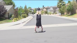 Catching up with skateboarder Russ Howell featured in News 8 throwback video
