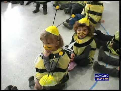 Los nios de la Escuela Infantil se transforman en abejas YouTube