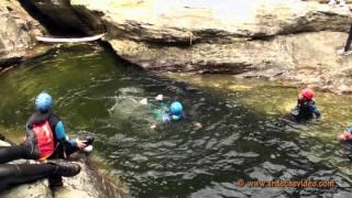 Ardèche - Canyoning La Borne Part 3 (Vallée du Chassezac)